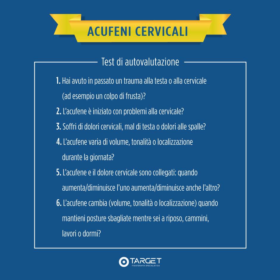 acufeni cervicali test